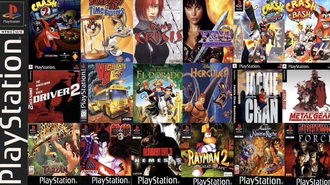 Los 100 mejores juegos de la primera Playstation en un vídeo - Friki Maestro